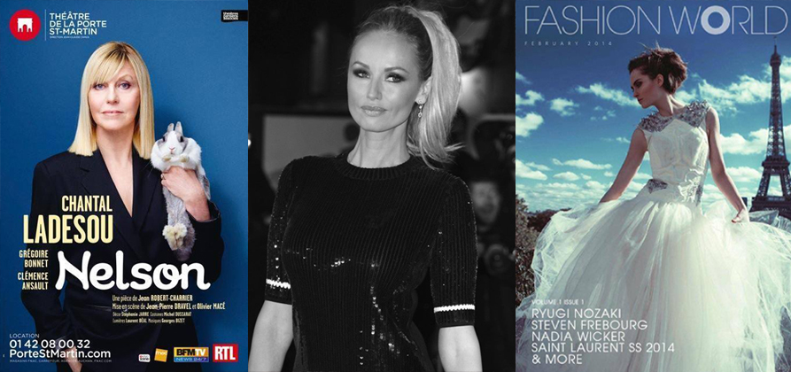 chantal ladesou - adriana karembeu - fashion world by fabien matignon